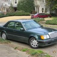 In The Hood: Mercedes 500E