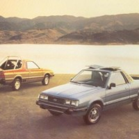 Subaru BRAT: Named in Japan
