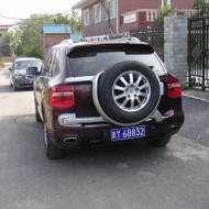 Porsche Cayenne Rear-Mounted Spare: Feature Fail