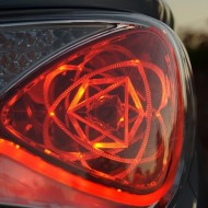 Hyundai Sonata Hybrid Atomic Tail Lights: Minutiae of the Minute