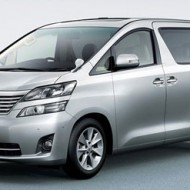 Toyota Vellfire: Named in Japan